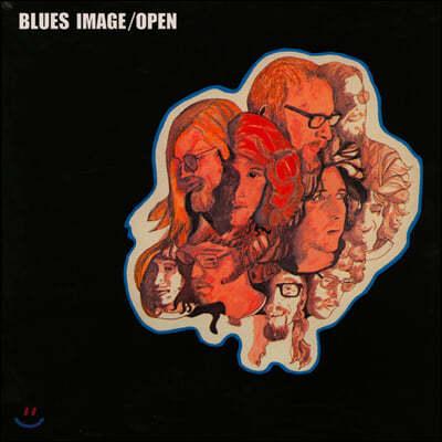Blues Image (블루스 이미지) - Open [LP]