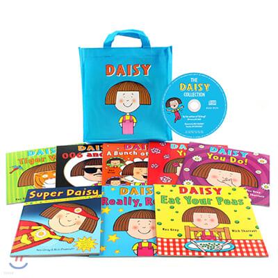 데이지 원서 그림책 8종 Book & CD 세트 + 에코백 : Daisy Bag 8 Picture Books Set