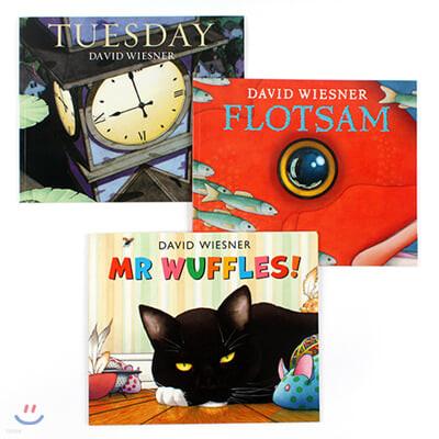 데이비드 위즈너 글 없는 그림책 원서 3종 세트 David Wiesner Picture Book 3 Paperback Set