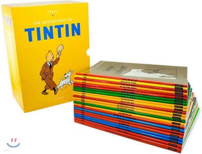 땡땡의 모험 페이퍼백 원서 23종 박스 세트 The Adventures of Tintin Paperback Boxed Set 23 titles