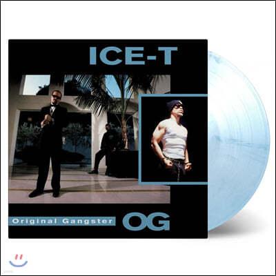 Ice-T (아이스 티) - O.G. Original Gangster [블루 마블 컬러 LP]