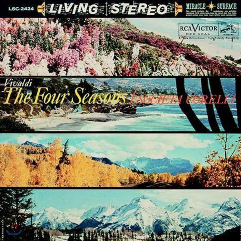 Societa Corelli 비발디: 사계 (Vivaldi: The Four Seasons) [LP]