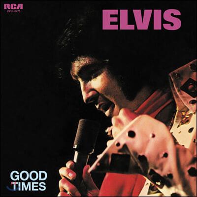 Elvis Presley (엘비스 프레슬리) - Good Times [블루 컬러 LP]