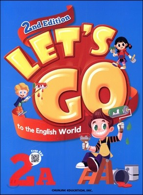 Let's go to the English World 2A