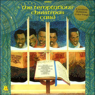 Temptations (템테이션스) - The Temptations' Christmas Card [화이트 컬러 LP]