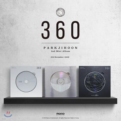 박지훈 - 미니앨범 2집 : 360 [180 Degrees ver.]