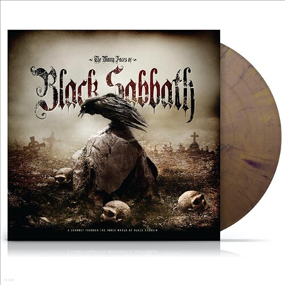 Black Sabbath - Many Faces Of Black Sabbath (180g Gatefold Gold/Black Spatter Vinyl 2LP)