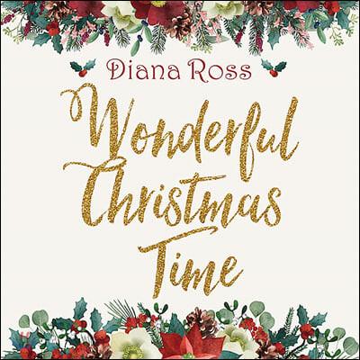 Diana Ross (다이애나 로스) - Wonderful Christmas Time [레드 컬러 2LP]