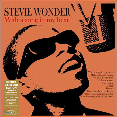 Stevie Wonder (스티비 원더) - With A Song In My Heart [LP]