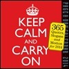 Keep Calm and Carry on Page-a-day 2014 Calendar
