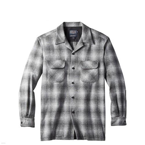 [펜들턴] 보드 셔츠 울 체크 그레이