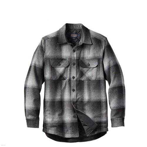 [펜들턴] 셔츠 자켓 우마틸라 퀼팅 울 챠콜