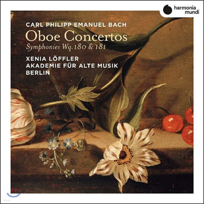 Xenia Loffler 칼 필립 엠마누엘 바흐: 오보에 협주곡 (C.P.E. Bach: Oboe Concertos)