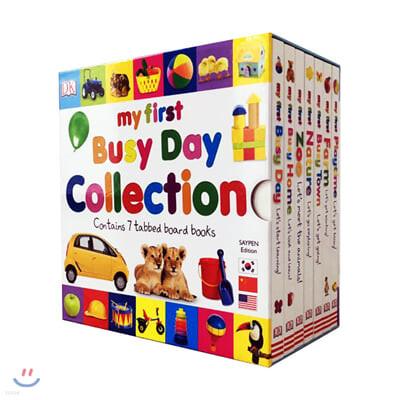 DK 마이 퍼스트 비지데이 7권 박스세트 (세이펜 호환) My First Busy Day Collection : 우리 아이 첫번째 영어 단어 사전