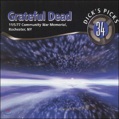 Grateful Dead (그레이트풀 데드) - Dick's Picks Vol. 34-Community War Memorial, Rochester, NY 11/5/1977 [6LP]