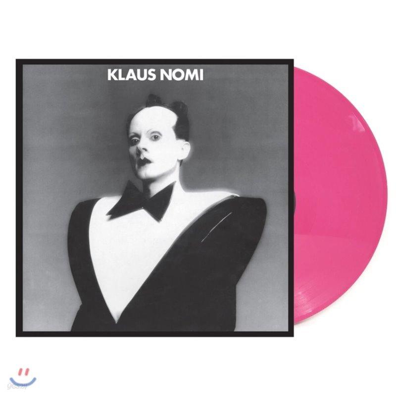 Klaus Nomi (클라우스 노미) - Klaus Nomi [핫 핑크 컬러 LP]