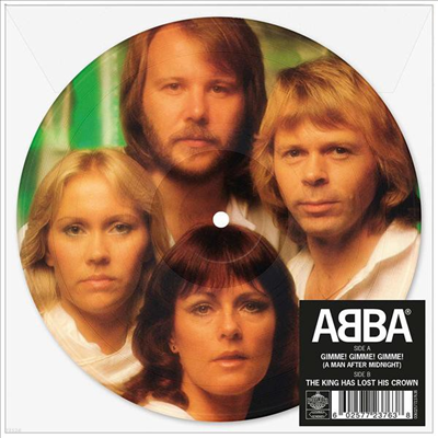 Abba - Gimme! Gimme! Gimme! (A Man After Midnight) (7 inch Picture LP)