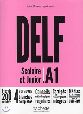 Delf Scolaire et Junior A1 (+DVD-Rom, Corriges)
