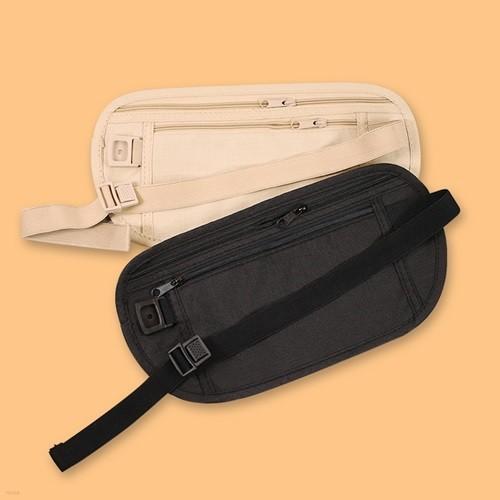 유럽 소매치기방지가방 여행 복 대 [소매치기 도난방지 유럽여행 안전 허리 지갑]