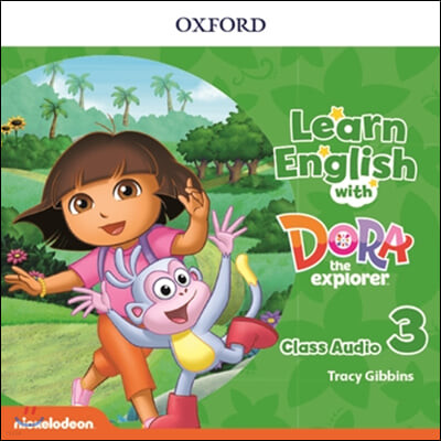 Learn English with Dora the explorer Level 3 : Audio CD