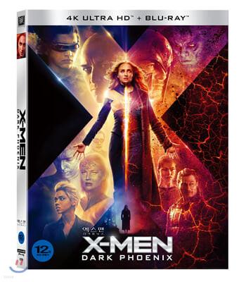 엑스맨 : 다크 피닉스 (2Disc 4K UHD + 2D 슬립케이스 한정판) : 블루레이