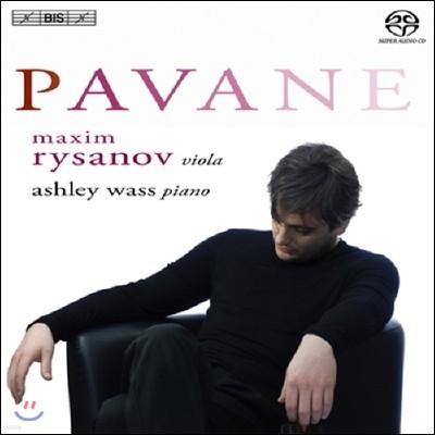 Maxim Rysanov 파반느 - 막심 리자노프 비올라 명연집 (Pavane)