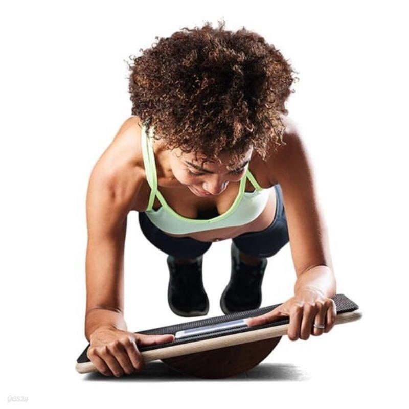 운동이 지루하지않아요! 전용앱 게임+플랭크패드 전신복근운동 밸런스보드