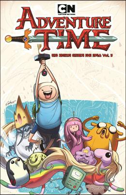 핀과 제이크의 어드벤처 타임 코믹스 3