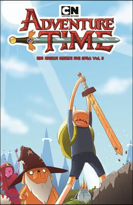 핀과 제이크의 어드벤처 타임 코믹스 5