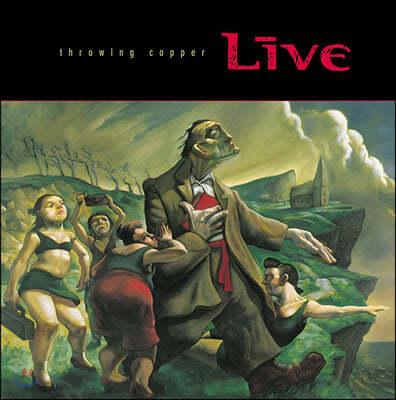 Live (라이브) - 3집 Throwing Copper (25th Anniversary) [레드 & 그린 컬러 2LP]