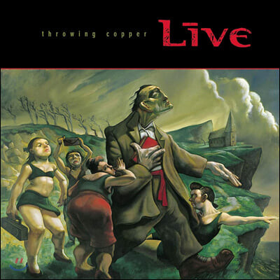 Live (라이브) - 3집 Throwing Copper (25th Anniversary) [2LP]