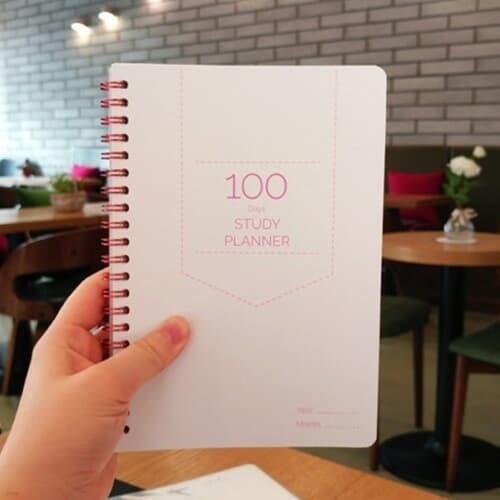 [바래인터랙티브] 100 days 스터디플래너