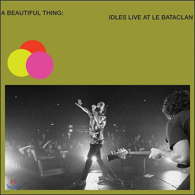 Idles (아이들스) - A Beautiful Thing: IDLES Live at Le Bataclan [네온 그린 컬러 2LP]