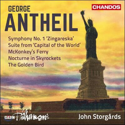 John Storgards 조지 앤타일: 관현악 작품 3집 - 교향곡 1번 외 (George Antheil: Orchestral Works Vol. 3)