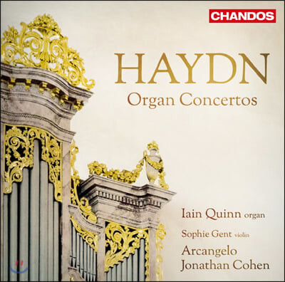 Iain Quinn 하이든: 오르간 협주곡집 HOB. XVIII: 1, 2, 6 (Haydn: Organ Concertos)