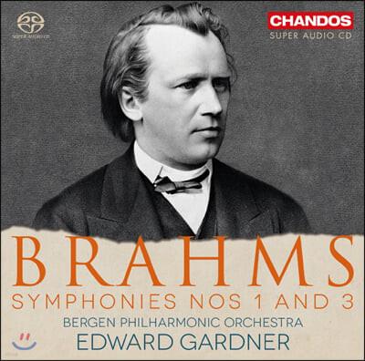 Edward Gardner 브람스: 교향곡 1, 3번 (Brahms: Symphonies Nos. 1, 3)