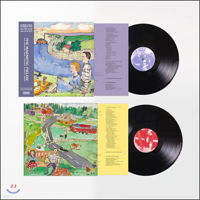 The Magnetic Fields (마그네틱 필즈) - 1-2집 The Wayward Bus / Distant Plastic Trees [2LP]