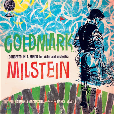 Nathan Milstein 골드마르크: 바이올린 협주곡 (Goldmark: Concerto for Violin in A minor) [LP]
