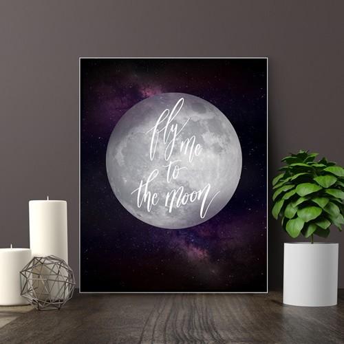 보노 액자 테이블 L 달