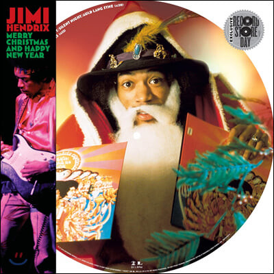 Jimi Hendrix (지미 헨드릭스) - Merry Christmas and Happy New Year [픽쳐 디스크 LP]