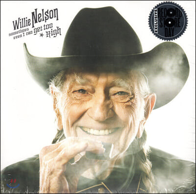 Willie Nelson (윌리 넬슨) - Sometimes Even I Can Get Too High [7인치 싱글 Vinyl]