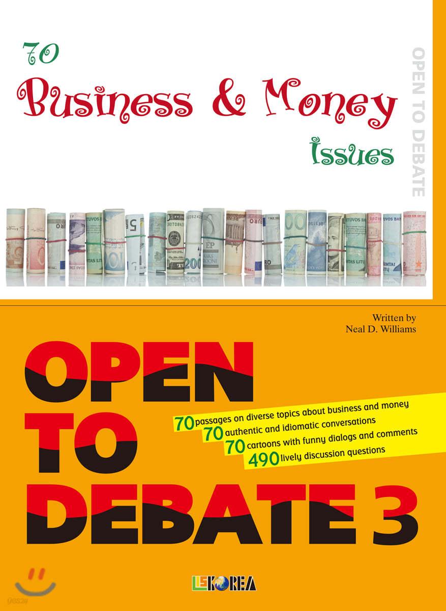 Open to Debate 3