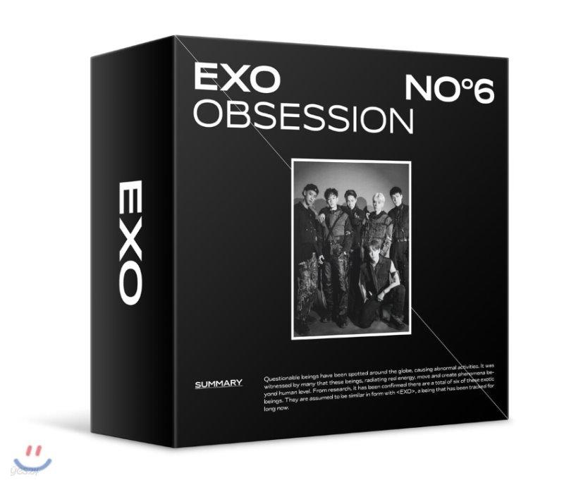 엑소 (EXO) 6집 - OBSESSION [스마트 뮤직 앨범(키트 앨범)]