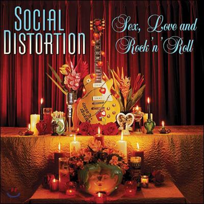 Social Distortion (소셜 디스토션) - Sex, Love and Rock 'N' Roll [LP]