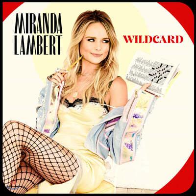 Miranda Lambert (미란다 램버트) - 7집 Wildcard [투명 레드 컬러 2LP]