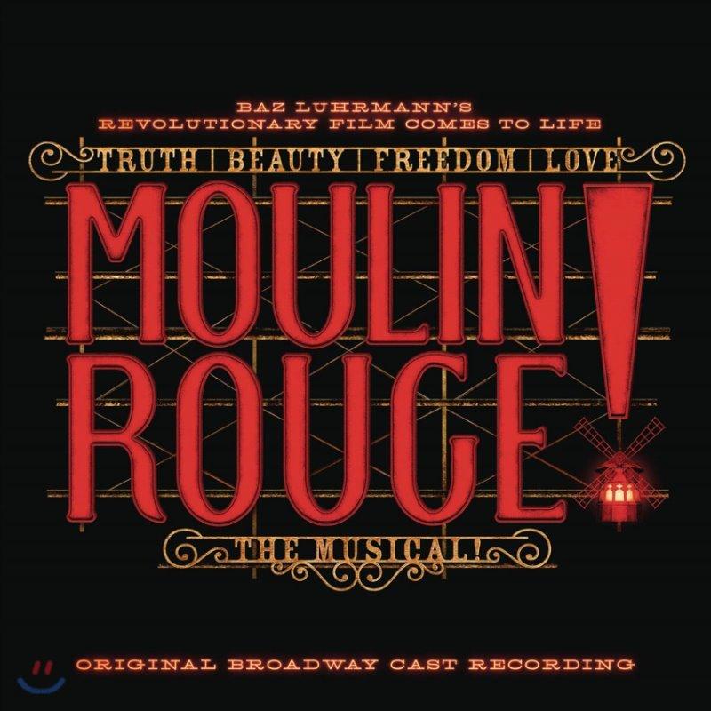 물랑 루즈 뮤지컬음악 - 오리지널 브로드웨이 캐스트 (Moulin Rouge! The Musical Original Broadway Cast Recording OST) [2LP]