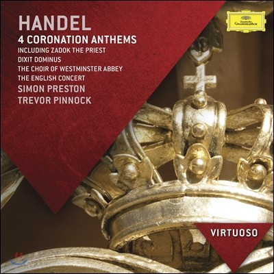 Westminster Abbey Choir 헨델 : 4개의 대관식 찬가 (Handel: Coronation Anthems & Dixit Dominus)