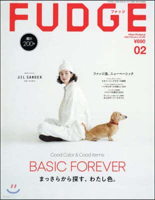 FUDGE(ファッジ) 2020年2月號
