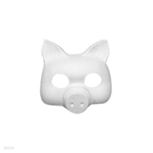 종이탈 만들기(돼지가면, 5개입)