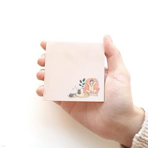 케렌시아(코랄) 포스트잇